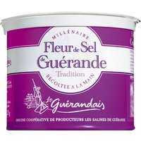 Le Guérandais Fleur de Sel de Guérande - Meersalz aus der Bretagne in der Dose 0000 - Gewürze