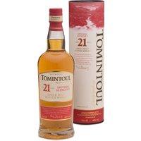 Tomintoul 21 Years Speyside Glenlivet Single Malt Scotch Whisky in Gp 0000 - Whisky