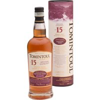 Tomintoul 15 Years Portwood Finish Speyside Glenlivet Single Malt Scotch Whisky Limited Edition in Gp 0000 - Whisky