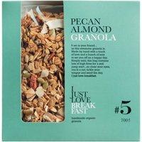 I Just Love Breakfast 5 Pecan Almond Granola – Knuspermüsli mit Pekannüssen und Mandeln 700g 0000 – Hülsenfrüchte & Reis, Belgien, 0.7000 kg