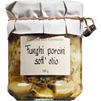 Cascina San Giovanni Funghi porcini sott'olio – Steinpilze in Olivenöl 0000 – Antipasti, Italien, 180g