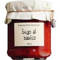 Cascina San Giovanni Sugo al basilico - Tomatensauce mit Basilikum 180ml 0000 - Saucen
