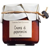 Cascina San Giovanni Paté di peperoncini – Paprikacreme 80g 0000 – Saucen, Pesto & Chutneys, Italien, 0.0800 kg