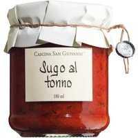 Cascina San Giovanni Sugo al tonno – Tomatensauce mit Thunfisch 180ml 0000 – Saucen, Pesto & Chutneys, Italien, 0.1800 l
