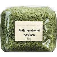 Cascina San Giovanni Sale marino al basilico - Meersalz mit Basilikum 0000 - Gewürze