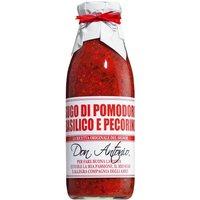 Don Antonio Sugo al basilico e pecorino – Tomatensauce mit Basilikum und Schafskäse 480ml 0000 – Saucen, Pesto & Chutneys, Italien, 0.4800 l