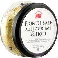 Casina Rossa Fior di Sale Agli Agrumi & Fiori reine Meersalzblüten Agrumi e Fiori 0000 - Gewürze