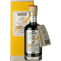 Gocce Balsamico di Modena 10 Travasi Balsamessig aus Modena 10 Jahre gereift 250ml 0000 – Essig, Italien, 0.2500 l