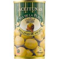 Aceitunera del Guadiana Grüne Oliven gefüllt mit Sardellenpaste 0000 – Antipasti, Spanien, 150g