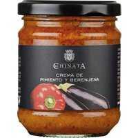 La Chinata Crema de Pimiento y Berenjena 180g 0000 – Saucen, Pesto & Chutneys, Spanien, 0.1800 kg