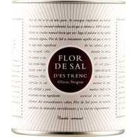 Flor de Sal d'Es Trenc Olivas Negras natürliches Meersalzmit gemahlenen schwarzen Oliven Bio 0000 - Gewürze