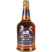 Pusser's Rum British Navy Original Admirality Rum   – Rum, British Virgin Islands, trocken, 0,7l
