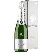 Champagner Pol Roger Brut Nature Pure in Gp   – Schaumwein, Frankreich, extra trocken, 0,75l