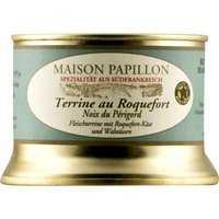 Maison Papillon Terrine au Roquefort 'Noix de Périgord' Terrine …, Frankreich, 0.1300 kg