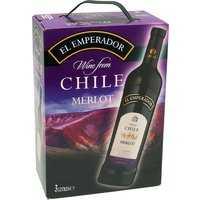 El Emperador Merlot 3,0L Bag in Box   – Rotwein, Chile, trocken, 3l