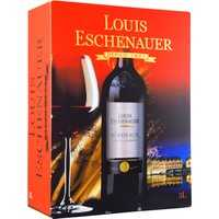 Louis Eschenhauer Bordeaux Aoc 3,0L Bag in Box   – Rotwein, Frankreich, trocken, 3l
