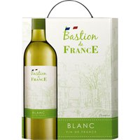 Bastion de France Blanc 3,0L Bag in Box   – Weisswein, Frankreich, trocken, 3l