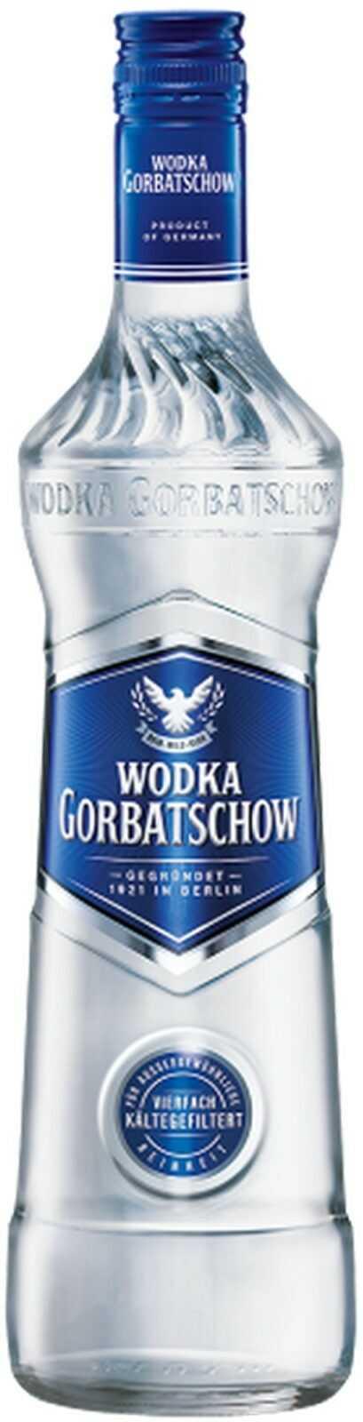 5%    - Vodka