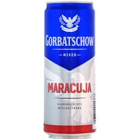 Wodka Gorbatschow Maracuja 10% - 330ml Dose   - Vodka