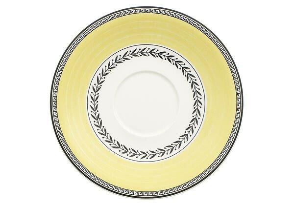 Villeroy & Boch Suppenuntertasse 18 cm rund mit Spiegel Audun Ferme