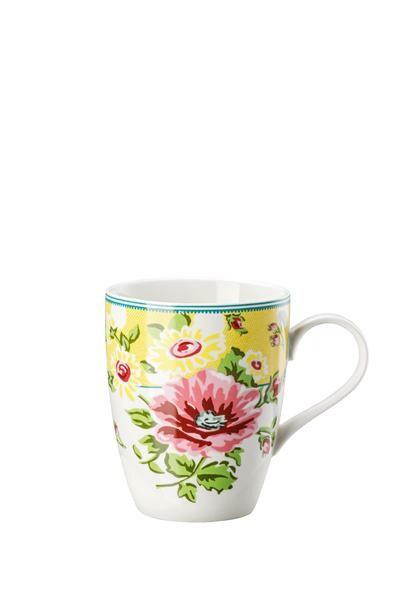 Hutschenreuther Becher m. Henkel Springtime Flowers Sun