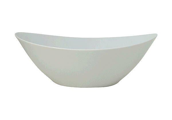 Arzberg Schüssel 24 cm oval Form 2000 Weiss