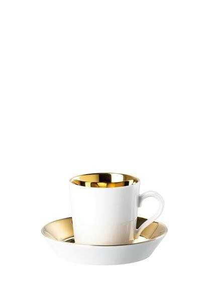 Arzberg Espressotasse m.U. Tric Gold titanisiert