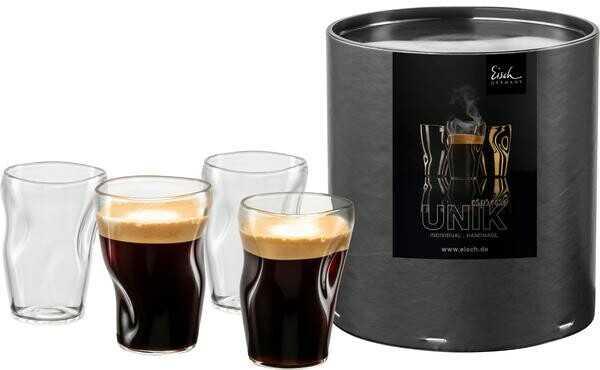 Eisch Espressoglas 0,1ltr. 4 St. Unik 132/8