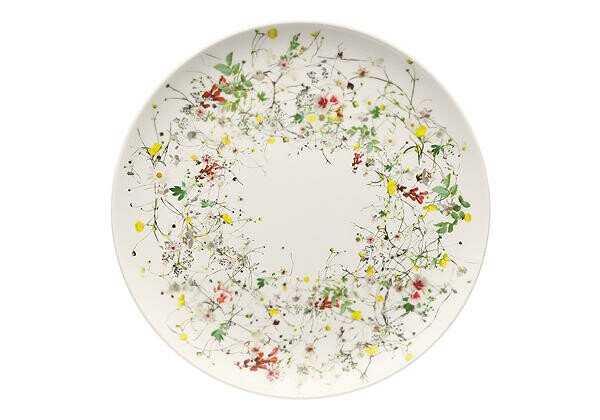Rosenthal Platzteller 32 cm Brillance Fleurs Sauvages
