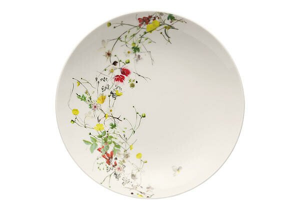 Rosenthal Suppenteller Coupe 21 cm Brillance Fleurs Sauvages