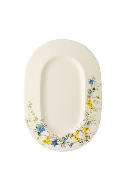 Rosenthal Servierplatte 34×24 cm Brillance Fleurs des Alpes