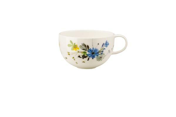 Rosenthal Tee- und Cappuccinotasse 0,25 l Brillance Fleur des Alpes