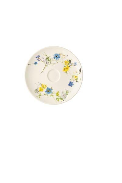 Rosenthal Kombiuntertasse Coupe 15,5 cm Brillance Fleur des Alpes