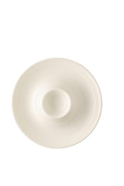 Rosenthal Eierbecher mit Ablage Brillance Weiß