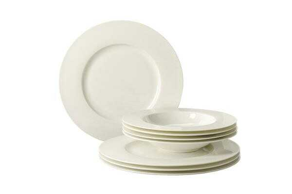Rosenthal Tafelservice 8-tlg. Brillance Weiß