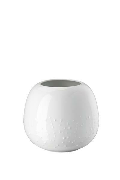Rosenthal Vase 16 cm Vesi Droplets weiss