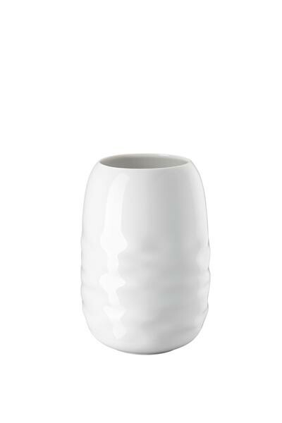 Rosenthal Vase 20 cm Vesi Wavelets weiss