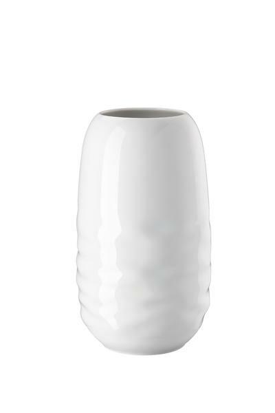 Rosenthal Vase 25 cm Vesi Wavelets weiss
