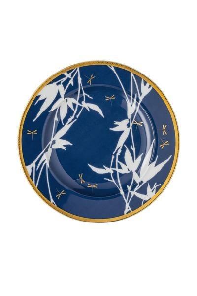 Rosenthal Brotteller 18 cm Heritage Turandot blue