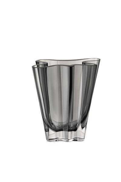 Rosenthal Vase 14 cm Flux grau