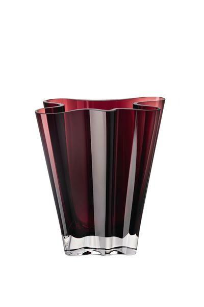 Rosenthal Vase 20 cm Flux violett