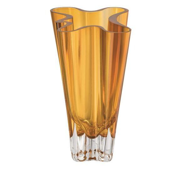 Rosenthal Vase 14 cm Flux Amber