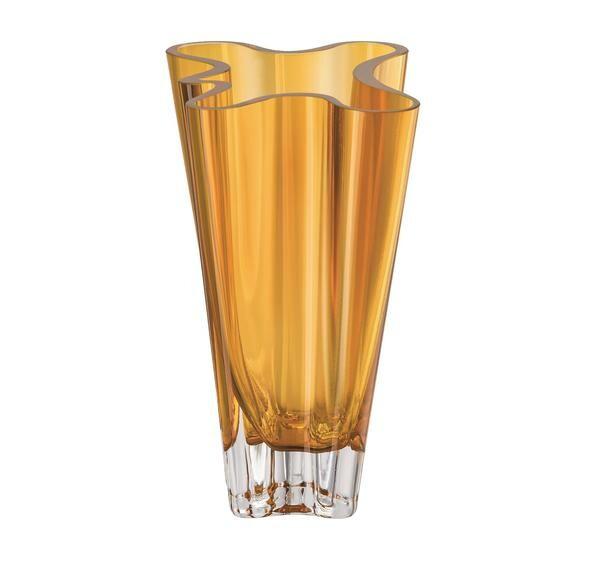 Rosenthal Vase 20 cm Flux Amber