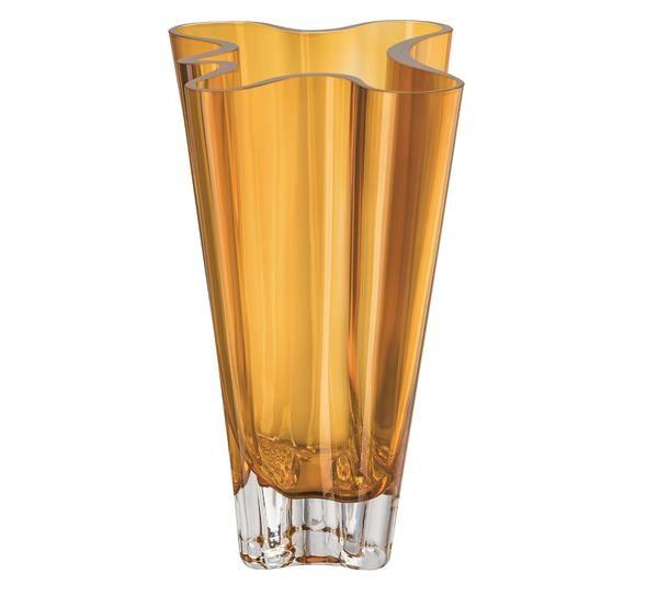 Rosenthal Vase 26 cm Flux Amber