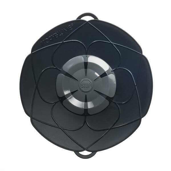 Cookline Kochblume anthrazit Durchmesser 29cm Silikon 14-24cm