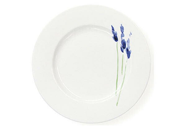 Dibbern Teller 28 cm Impression Blume Blau flach