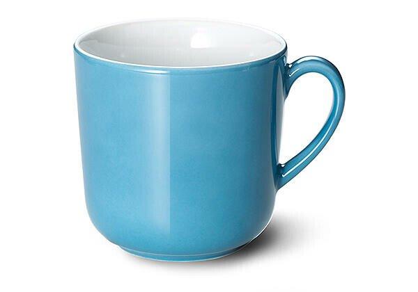 Dibbern Henkelbecher 0,32 l Solid Color vintage blue