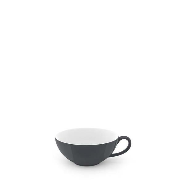 Dibbern Teetasse 0,22 l Solid Color anthrazit