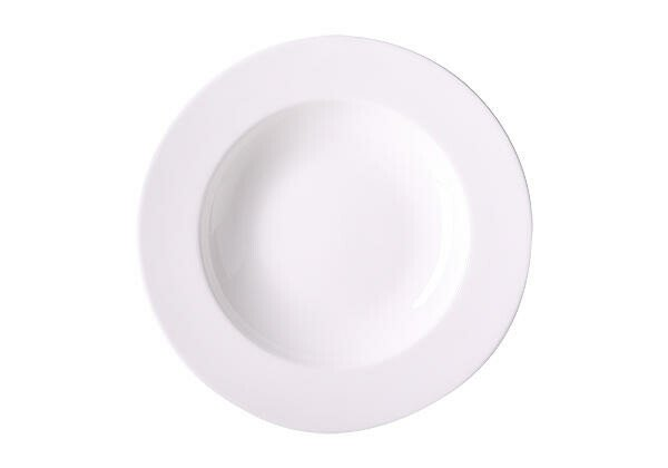 Dibbern Teller tief 23cm Bone China Weiß
