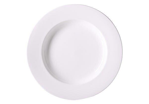 Dibbern Gourmet Teller tief 32 cm Bone China Weiß